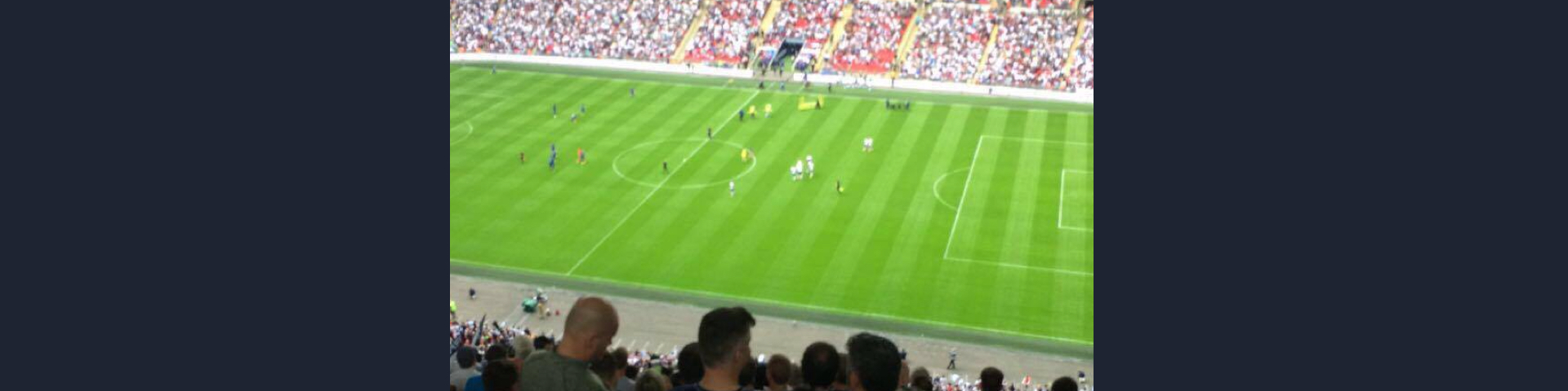 Premier League Football At Wembley Off To A Flier