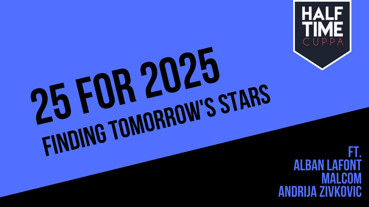 #25for2025 – Finding Tomorrow's Stars – 16-14