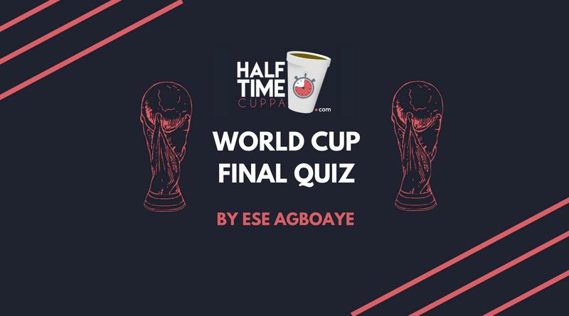 World Cup final quiz