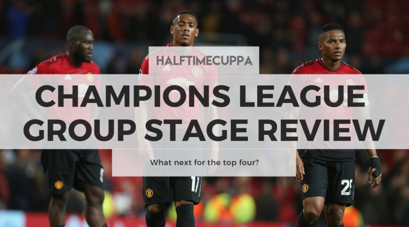 Champions League Group Stage review – What next for the top four?