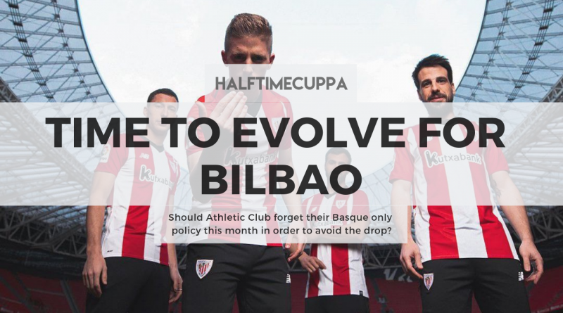 Should Athletic Club forget their Basque only policy this month in order to avoid the drop?