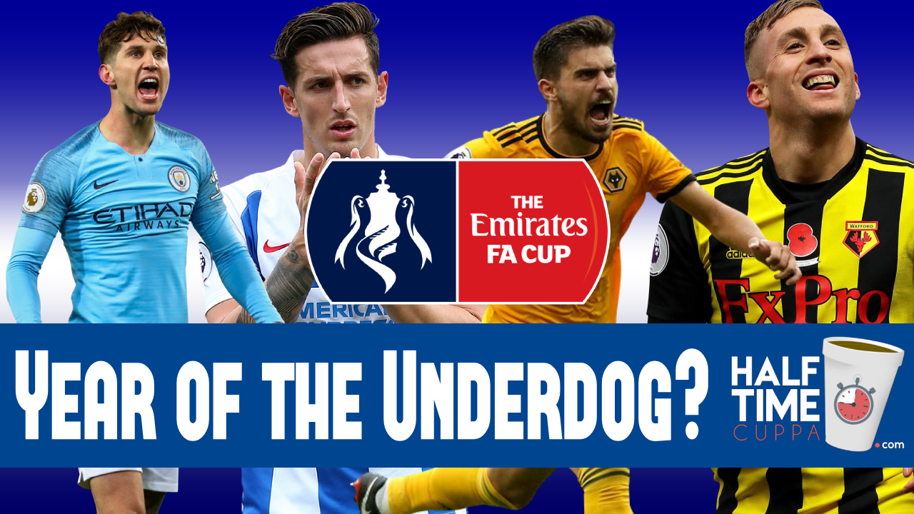 Year of the Underdog? – FA Cup final four all hopeful