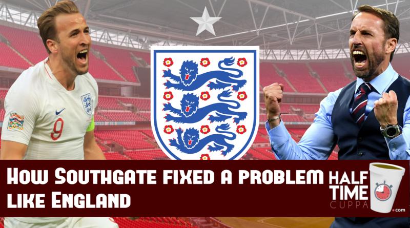 How Southgate fixed a problem like England