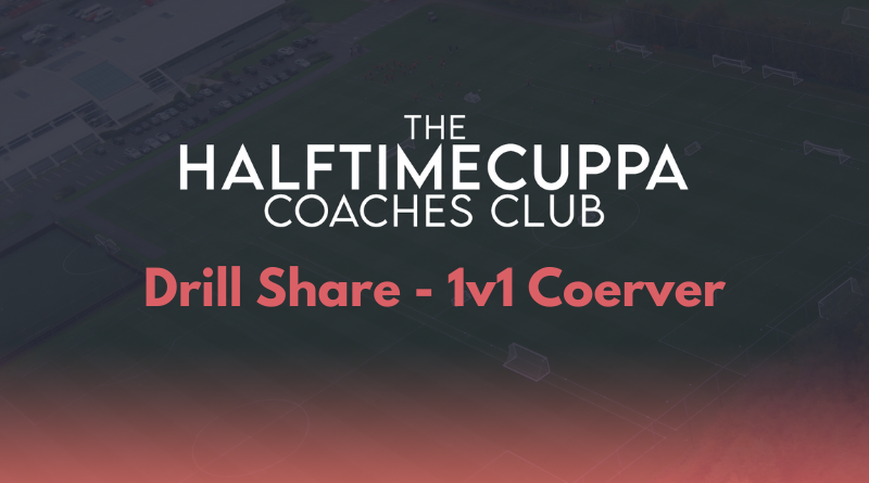 Coaches Club – 1v1 Coerver Drill