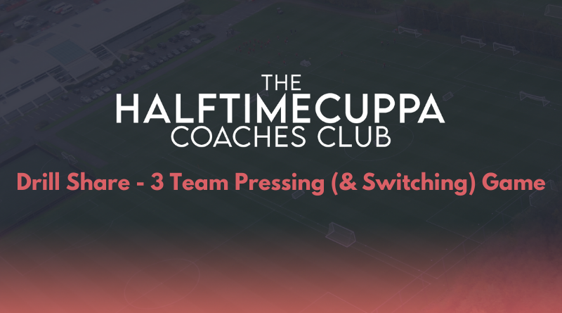 Coaches Club – 3 Team Pressing (& Switching) Game