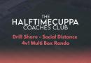 Coaches Club – Social Distance – 4v1 Multi Box Rondo